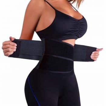 VENUZOR Waist Trainer Belt Women- Waist Cincher Trimmer-Slimming Body Shaper Belt-Sport Girdle Belt