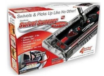 Cordless Swivel Sweepers Touchless