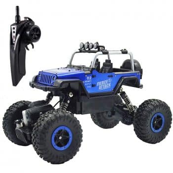 RC Cars Off-Road Vehicles Jeep Trucks 4WD RC Trucks 1:18 Monster Trucks 2.4GHz RC Hobby Cars High Speed Racing Cars with LED Light
