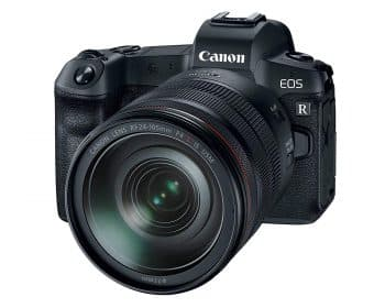 Canon EOS R Mirrorless Digital Camera with 24-105mm Lens
