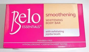 Belo Essential Smoothing whitening Body Soap with White Plus One Bar 135 Gm