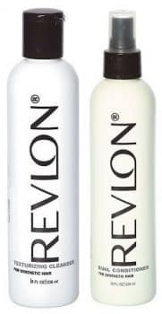 Revlon Texturizing Cleanser & Revitalizing Conditioner for Synthetic Hair & Wigs, 8oz, 2 Pack