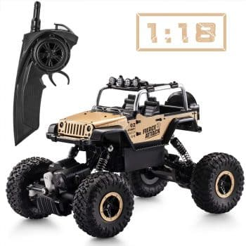 Tobeape RC Car, Wireless Remote Control Off Road RC Toy Car