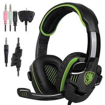 Stereo Gaming Headphone Headset Earphone with Microphone