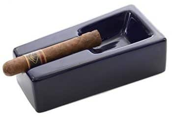 Montello Cigars Cobalt Blue Ceramic Cigar Ashtray