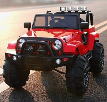 BIG TOYS DIRECT Kids Ride On Jeep 12V Power with Big Wheels and Remote Control