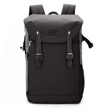 BAGSMART Camera Backpack with 15.6 Inch Laptop Compartment and Waterproof