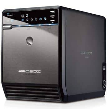 "Mediasonic ProBox HF2-SU3S2 4 Bay 3.5"" SATA HDD Enclosure"