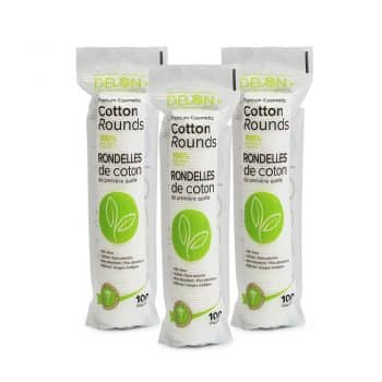 Delon 100% Cleansing Cotton Rounds (300)