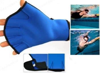 Harryshell(TM)Water Resistance Fins Hand Glove