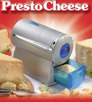 Imperia Presto Electric Cheese Grater