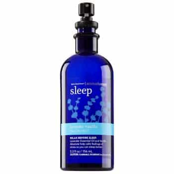 Bath & Body Works Aromatherapy Sleep Lavender Vanilla Pillow Mist, 5.3 Fl Oz