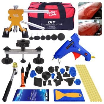 AUTOPDR 40pcs DIY Paintless Dent Removal Tool Kit for Automobile Body Motorcycle Refrigerator Washing Machine …