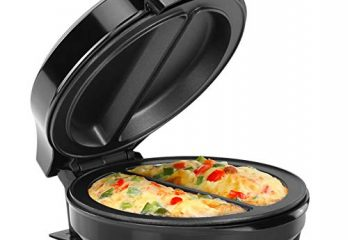 Holstein Housewares HH-0937012SS Omelet Maker - Black