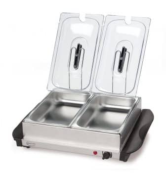 Betty Crocker Stainless Steel Buffet Server and Warming Tray
