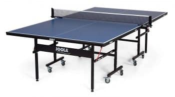 JOOLA Inside Table Tennis Table with Net Set - Features Quick 10-Min Assembly, Playback Mode, Foldable Halves