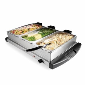 Oster Buffet Server, Triple Tray