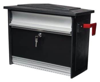 Gibraltar Mailboxes Mailsafe Medium Capacity Aluminum Black