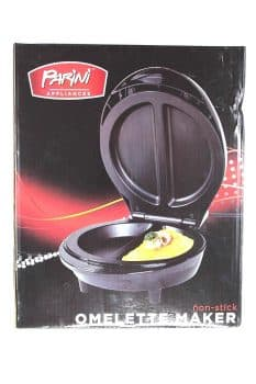 Parini Appliances Non-Stick Omelette Maker-Black