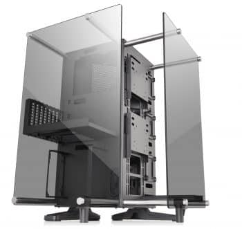 Thermaltake Core P90 Tempered Glass Black ATX Mid Tower Open Frame 2-Sided Glass Viewing