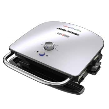George Foreman GBR5750SSQ Broil 7-in-1 Electric Indoor Grill