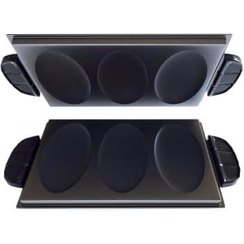 George Foreman Evolve Grill System Omelet Plates