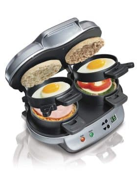 Hamilton Beach 040094923793 25490A Dual Breakfast Sandwich Makers,