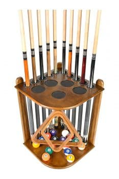 Cue Rack Only Billiard Stick and Ball Floor Rack