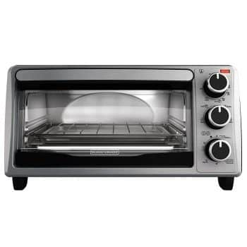 BLACK + DECKER 4-Slice Toaster Oven