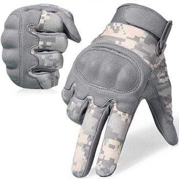 JUISY Hard Knuckle Touch Screen Gloves