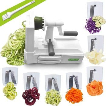 Spiralizer Ultimate 7 Strongest and Heaviest Duty Vegetable Slicer