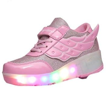 Roller Shoes Girls Roller Shoes Boys Kids LED light Wheeled Shoes