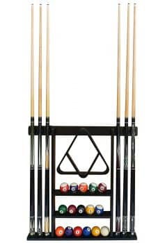 Flintar Wall Cue Rack Stylish Premium Billiard Pool Cue Stick Holder