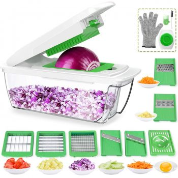 ONSON Food Chopper Cutter Onion Slicer Dicer