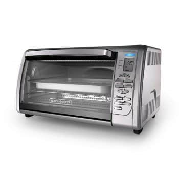 BLACK +DECKER Countertop Convention Toaster Oven