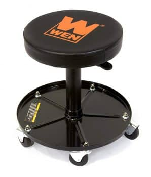 WEN Pneumatic Rolling Mechanic Stool