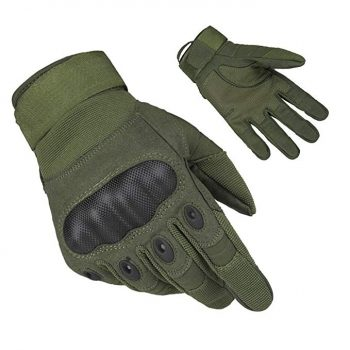 Ventilate Wear-resistant Tactical Gloves Hard Knuckle