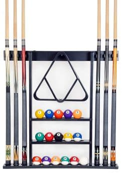 Cue Rack Only 6 Pool Cue Billiard Stick Wall Rack