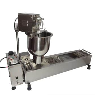 Wotefusi New Donut Frying Machine Commercial Full Automatic Donut Maker