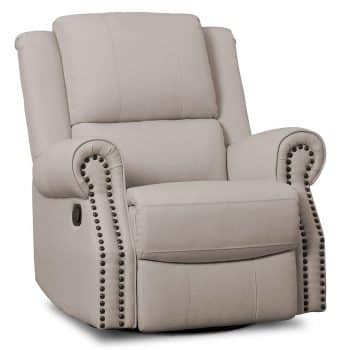 Delta Children Dylan Nursery Recliner Glider Swivel Chair