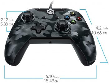 PDP Stealth Series Wired Controller, Phantom Black