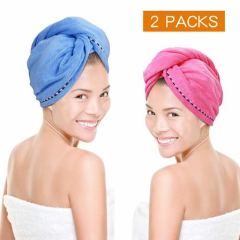 Microfiber Hair Towel Quick Dry Hair Towel Wrap Turban Twist