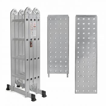 multi-purposes Aluminum Folding Scaffold Step Ladder