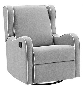 Angel Line Rebecca Upholstered Swivel Gliding Recliner
