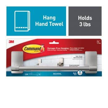 Command Kitchen Towel Rack
