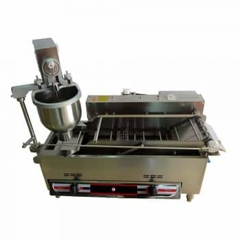 MXBAOHENG Commercial Auto Gas & Electric Donut Making Machine