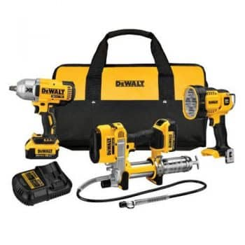 "DEWALT 20V 1/2"" Drive and Grease Gun"