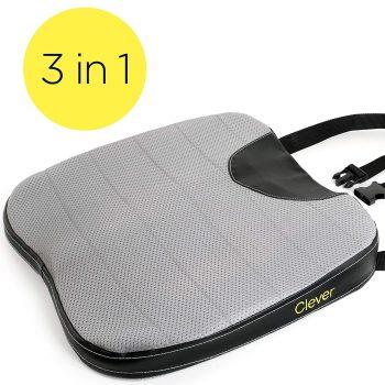 car seat cushion with strap