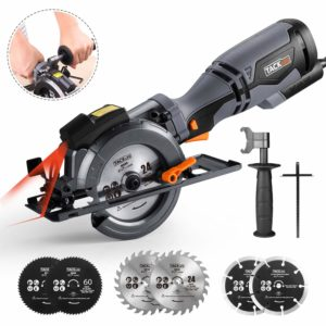TACKLIFE Circular Saw with Metal Handle