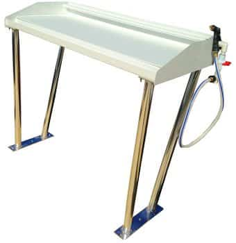 Petersen Metals Fish Cleaning Table